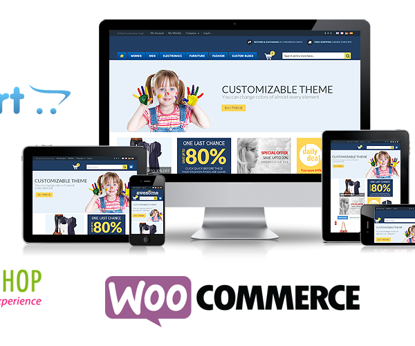Woo-commerce Website Designing Company in Delhi